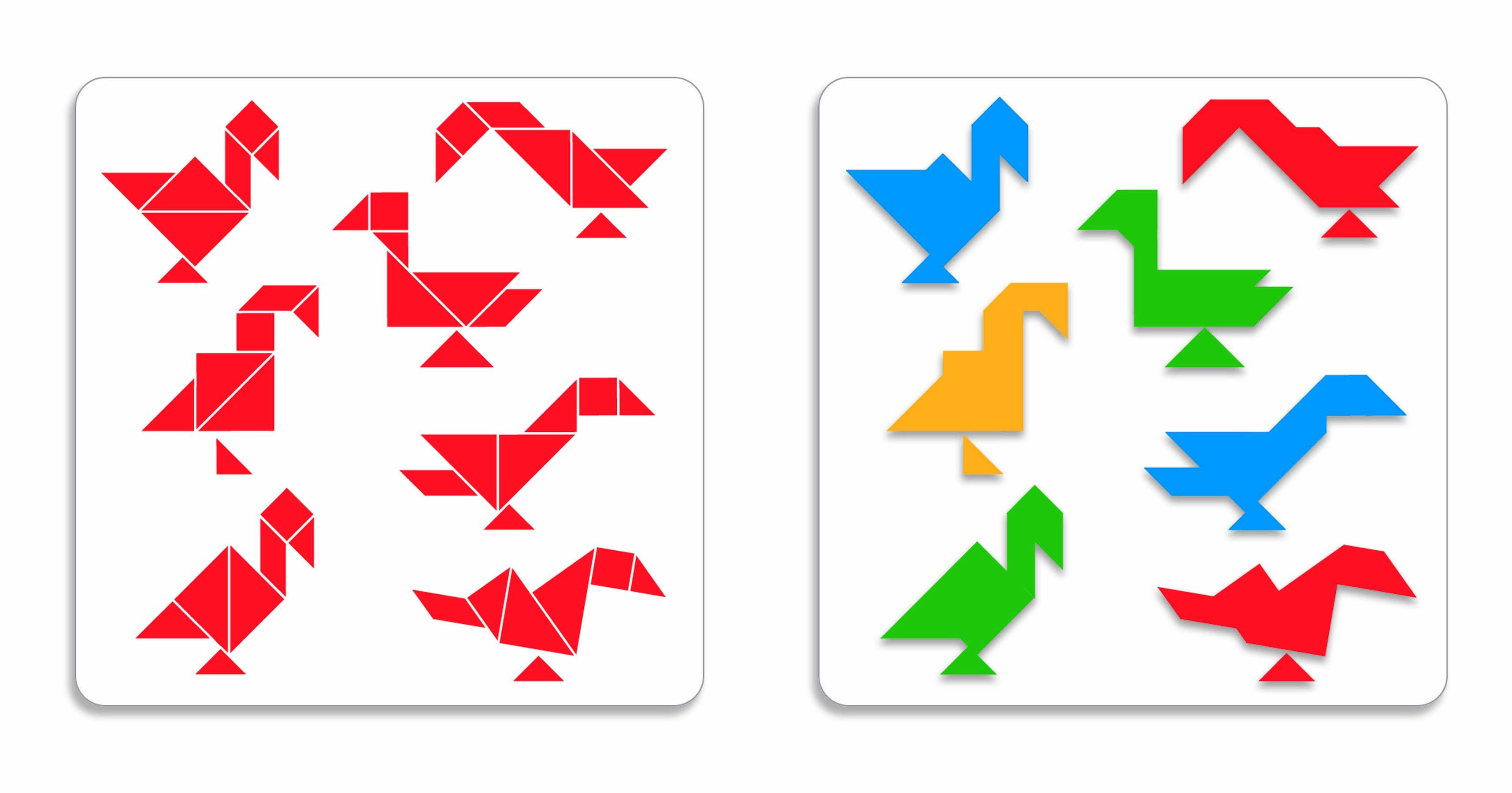 танграм картинки без контуров складывается, что портфолио