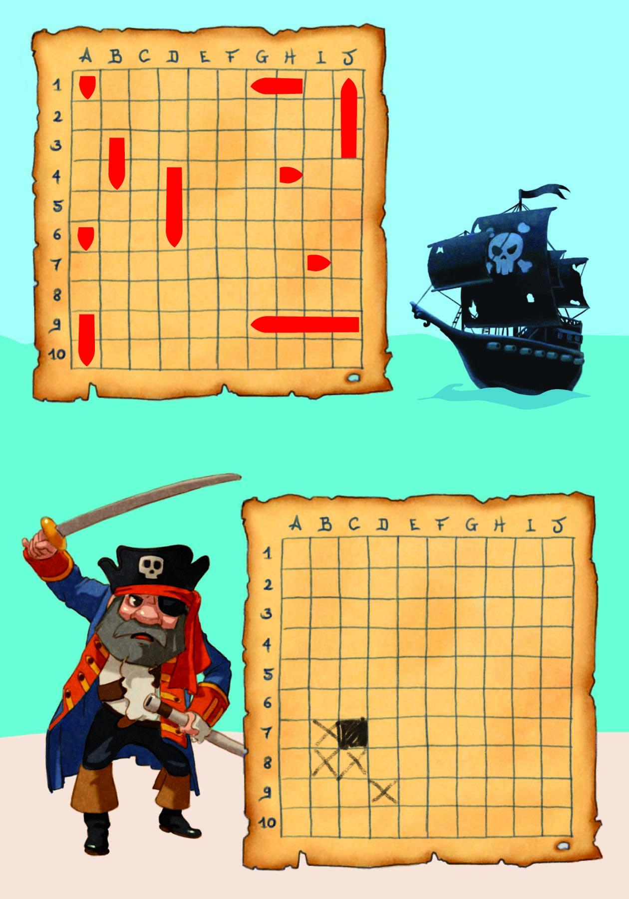 картинка: игра морской бой