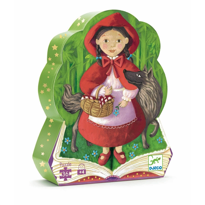 Little Red Riding Hood - 4+ Yaş Puzzle, 36 pcs