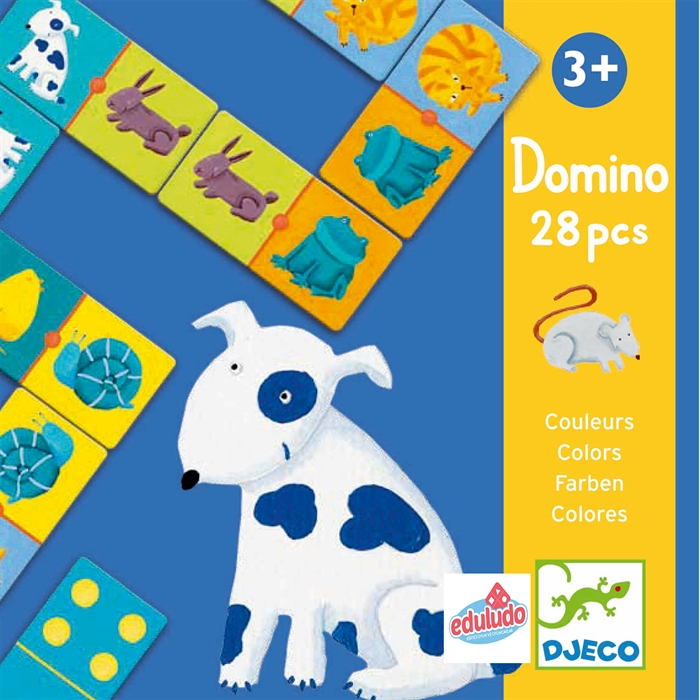 Domino Colour Animals