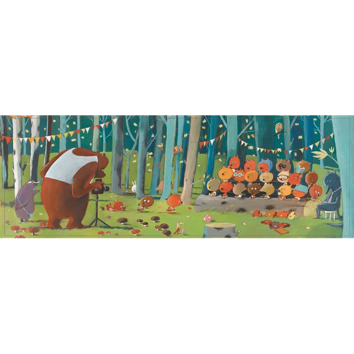 Forest Friends - 5+ Yaş Puzzle, 100 Pcs