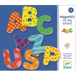 Magnetic's 38 Big Letters