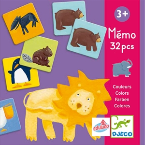Memo Colour Animals