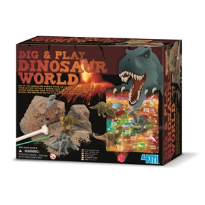 Dig & Play Dinosaurs World