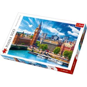 Sunny Day in London 500 Parça Puzzle