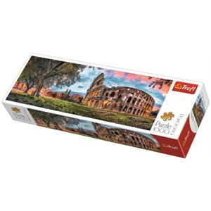 Colosseum at Dawn 1000 Parça Panorama Puzzle