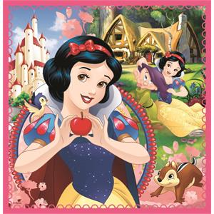 The Enchanted World of Princesses / Disney Princess 3'lü 20+36+50 Parça Puzzle