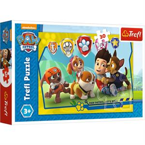 Ryder and Friends / Viacom PAW Patrol 30 Parça Puzzle