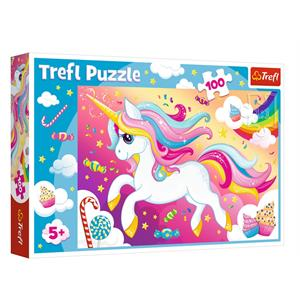 Beautiful Unicorn 100 Parça Puzzle